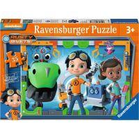 Ravensburger puzzle Rusty Rivets 35 dílků