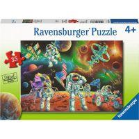 Ravensburger puzzle Přistání na měsíci 35 dílků