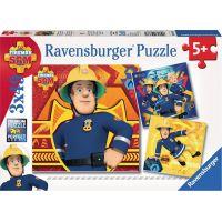 Ravensburger puzzle Zavolej Sama v nouzi 3 x 49 dílků