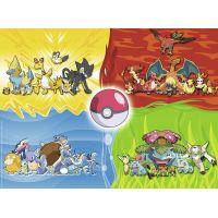 Ravensburger Puzzle Druhy Pokémonů 150 dílků