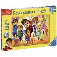 Ravensburger Puzzle Alvin a jeho přátelé 150 XXL dílků