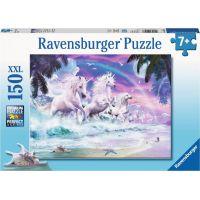 Ravensburger puzzle Jednorožec na pláži 150 XXL dílků
