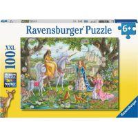 Ravensburger puzzle Párty princezen 100 XXL dílků