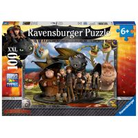 Ravensburger puzzle Jak vycvičit draka II. 100 dílků