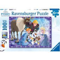 Ravensburger puzzle Olafovo dobrodružství 100 dílků