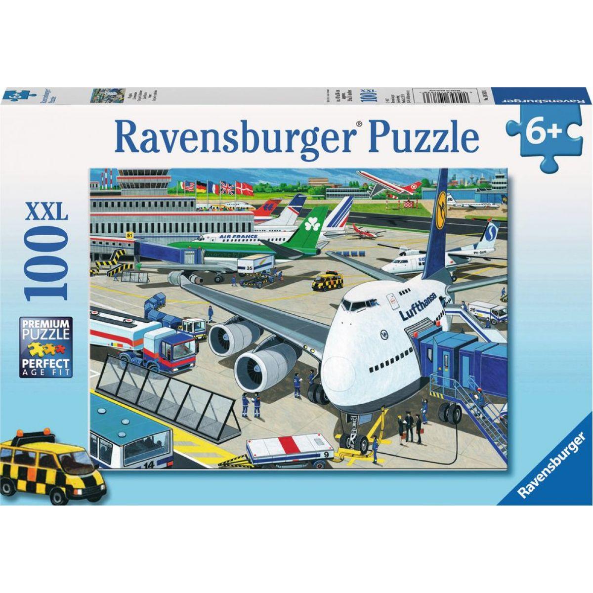 Ravensburger puzzle Letiště 100 XXL dílků Ravensburger