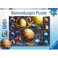 Ravensburger puzzle Planety 100 XXL dílků