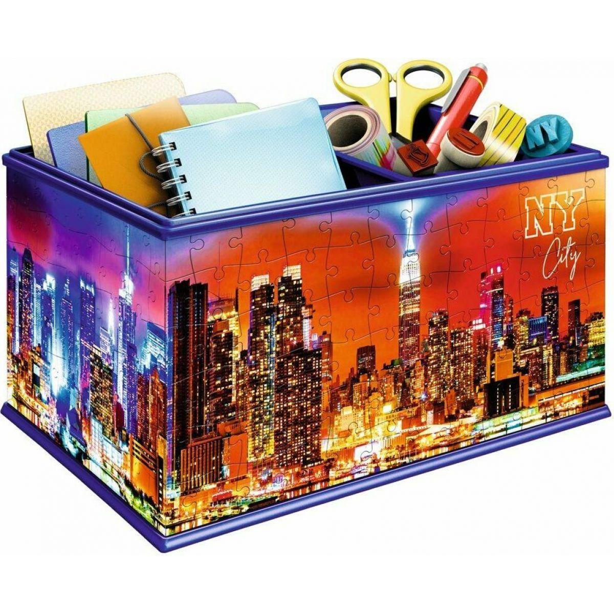 Ravensburger puzzle �lo?n� krabice New York 216 d�lk?