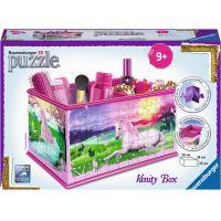 Ravensburger puzzle Úložná krabice Jednorožec 216 dílků