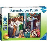 Ravensburger puzzle Psí koupel 200 XXL dílků