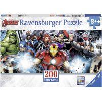 Ravensburger puzzle Tým superhrdinů 200 dílků