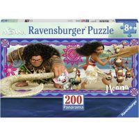 Ravensburger Puzzle Disney Moana: Dobrodružství  Vaiany 200 dílků