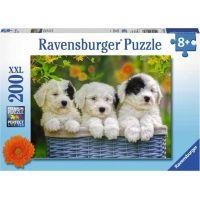 Ravensburger puzzle Mazlivá štěnata 200 XXL dílků