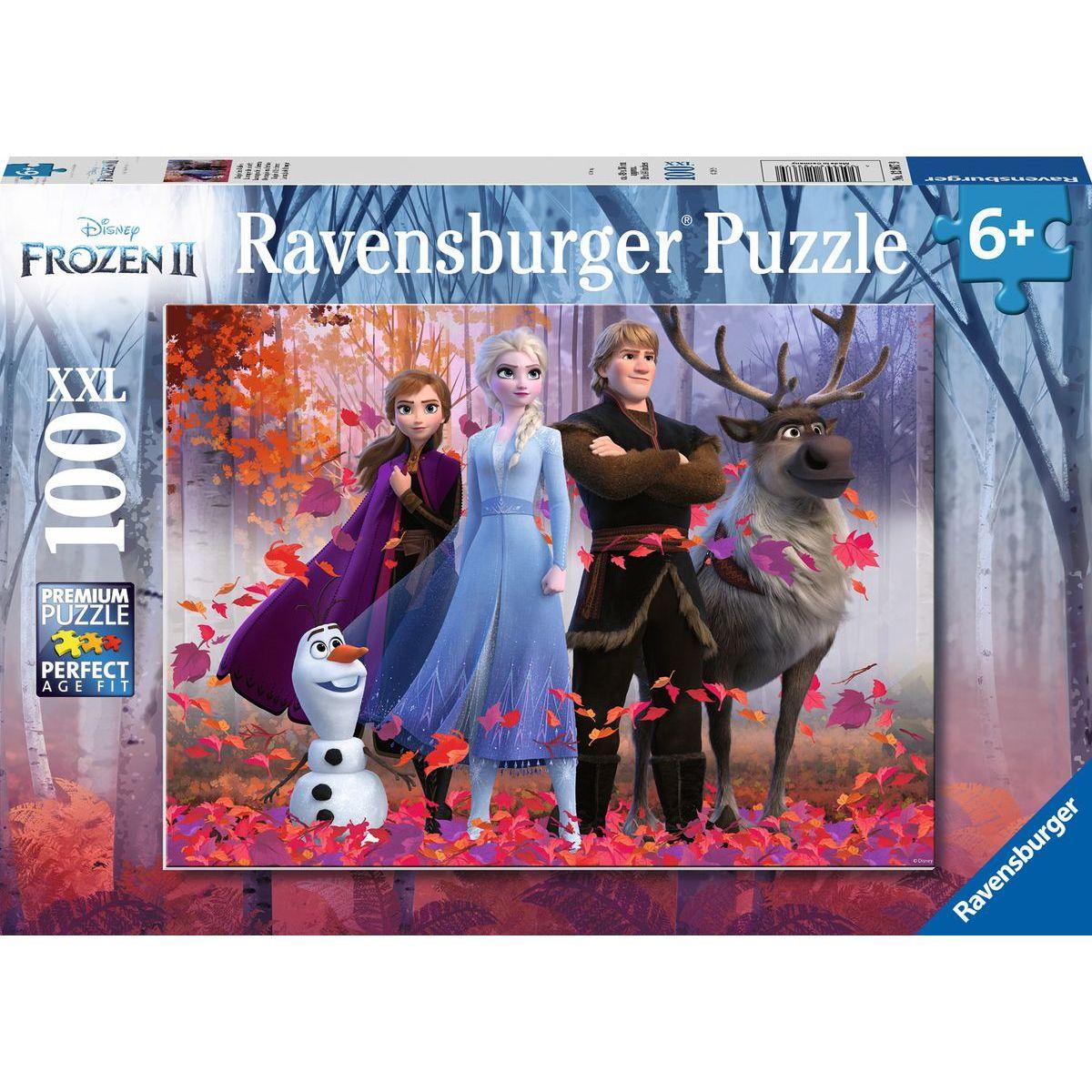 Ravensburger puzzle Disney Ledové království II 100 XXL dílků