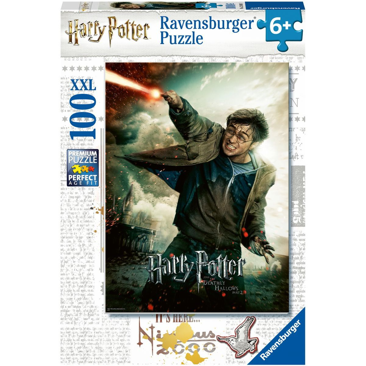 Ravensburger puzzle Harry Potter 128693 100 XXL dílků