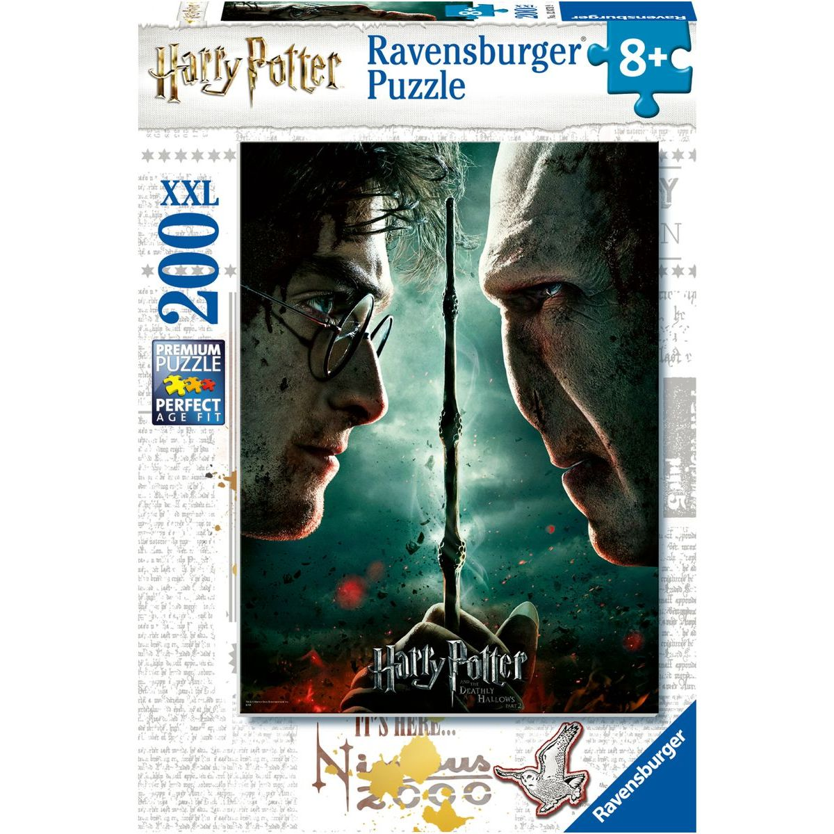 Ravensburger puzzle 128709 Harry Potter 200 XXL dílků