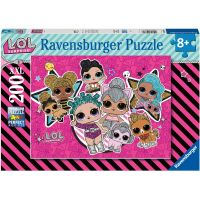 Ravensburger puzzle L. O. L. Dívčí síla 200 XXL dílků
