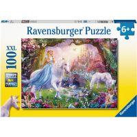 Ravensburger puzzle Magický jednorožec 100 dílků