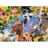 Ravensburger puzzle 129027 Legrační hospodárske zvieratá 200 XXL dielikov