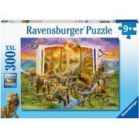 Ravensburger puzzle Encyklopedie dinosaurů 300 XXL dílků