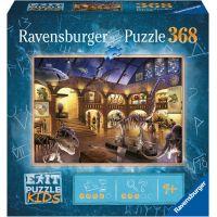 Ravensburger puzzle Exit Kids Puzzle Noc v muzeu 368 dílků