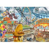 Ravensburger puzzle Exit Kids Puzzle Zábavní park 368 dílků