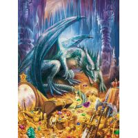 Ravensburger Puzzle Dračí poklad 100 dílků