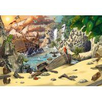 Ravensburger Puzzle Exit Kids Puzzle Piráti 368 dílků
