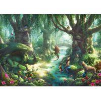 Ravensburger Puzzle Exit Kids Puzzle V magickém lese 368 dílků