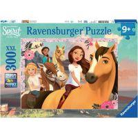 Ravensburger puzzle Dobrodružství s koňmi 300 XXL dílků