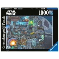 Ravensburger puzzle Star Wars Kde je Wookie 1000 dílků