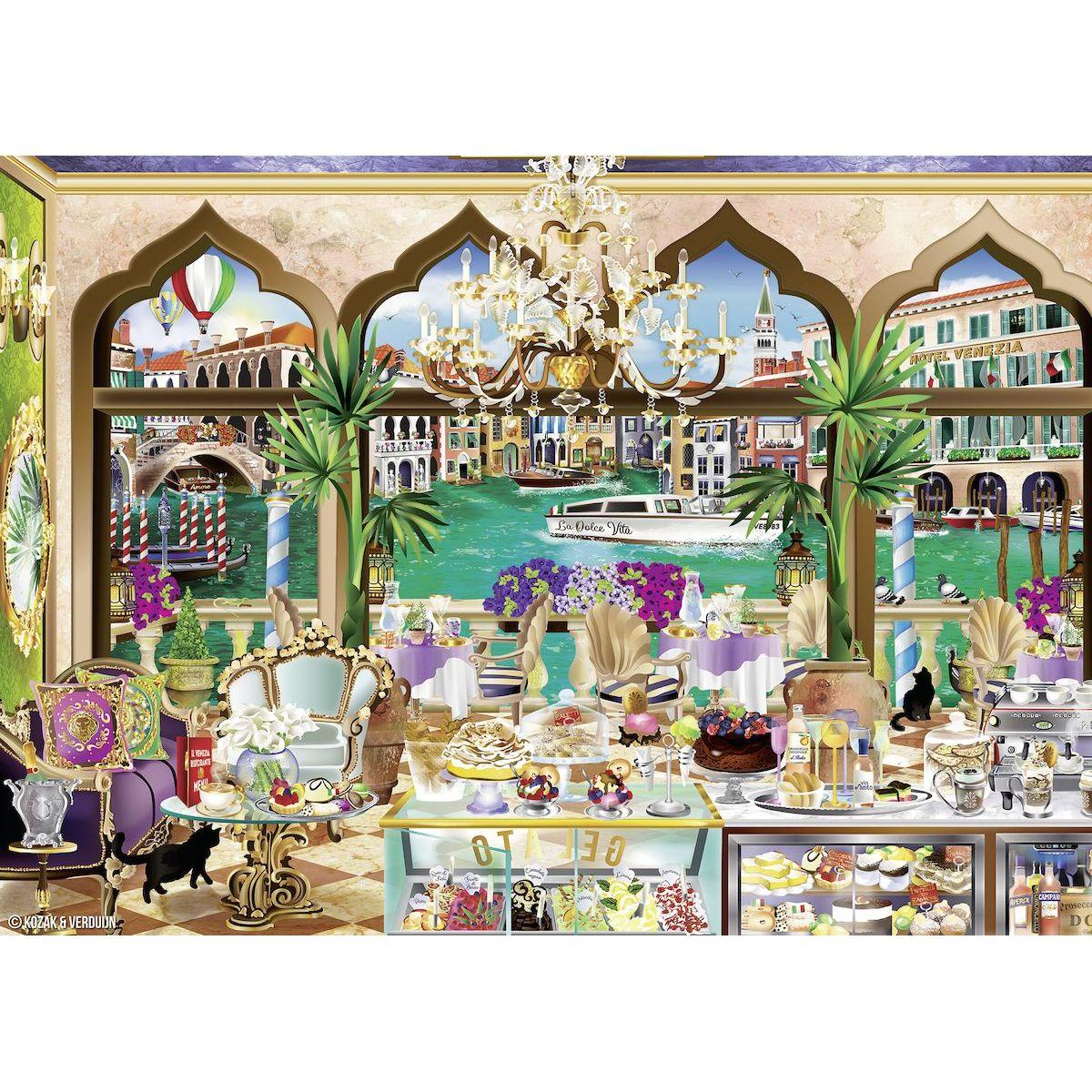 Ravensburger Puzzle Benátky 1000 dílků
