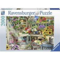 Ravensburger puzzle Zahradníkův ráj 2000 dílků