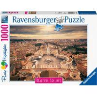 Ravensburger puzzle Řím 1000 dílků