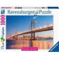 Ravensburger puzzle San Francisco 1000 dílků