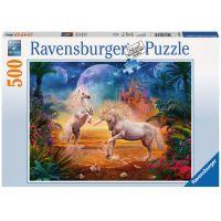 Ravensburger Puzzle 147434 Magický Jednorožci 500 dílků