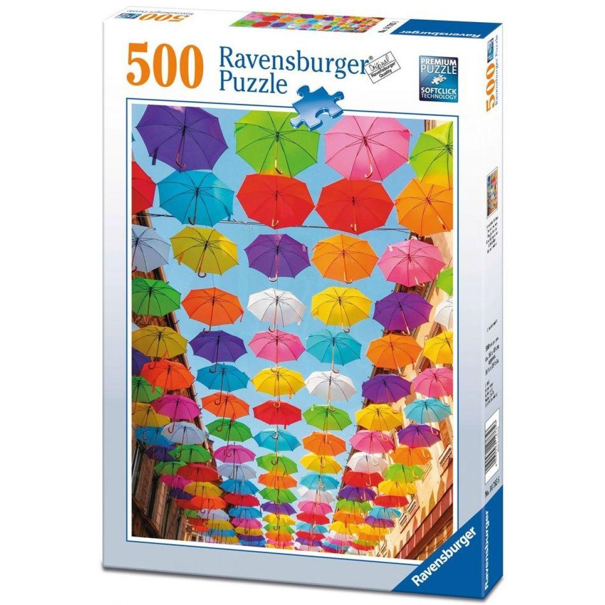 Ravensburger Puzzle Pioggia di Colori 500 dílků