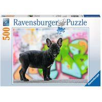 Ravensburger Puzzle 147717 Francouzský bulldog 500 dílků