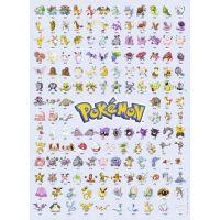 Ravensburger Puzzle Prvních 151 Pokémonů 500 dílků 2