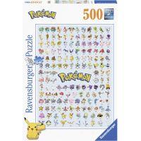 Ravensburger Puzzle Prvních 151 Pokémonů 500 dílků 3