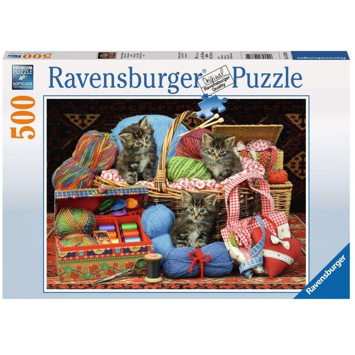 Ravensburger Puzzle Potěšení z pletení 500 dílků