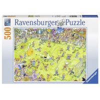 Ravensburger Puzzle Na fotbalovém zápase 500 dílků