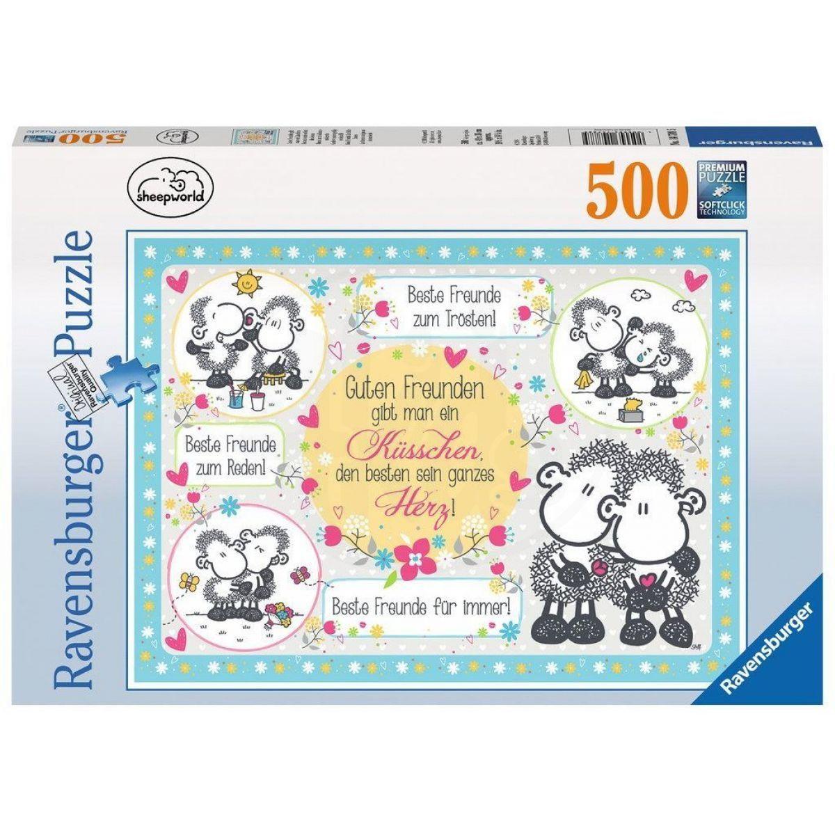 Ravensburger Puzzle Dobří přátelé Little K. 500 dílků