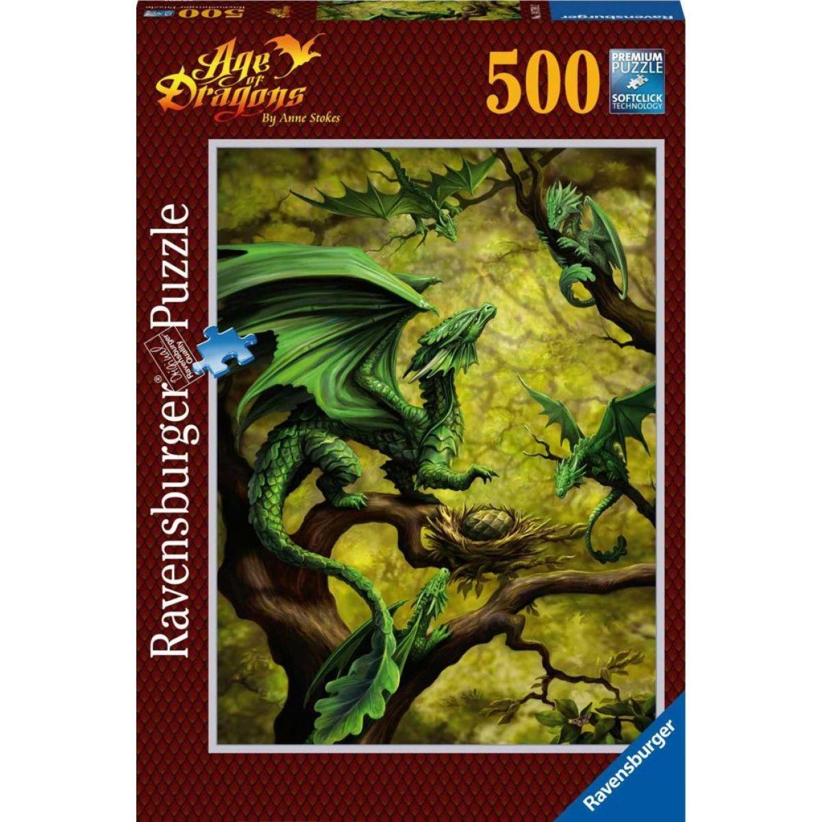 Ravensburger Puzzle 147892 Lesní drak 500 dílků