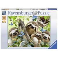 Ravensburger Puzzle 147908 Selfie lenochoda 500 dílků