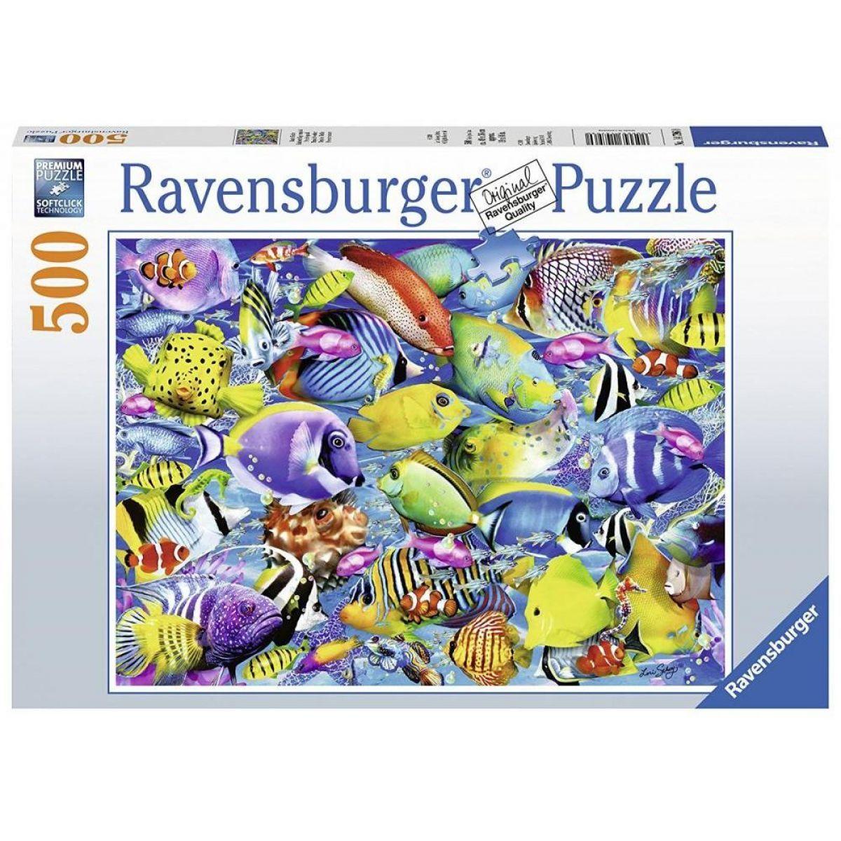 Ravensburger Puzzle Tropická doprava 500 dílků