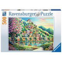 Ravensburger Puzzle 147984 Blossom Park 500 dílků