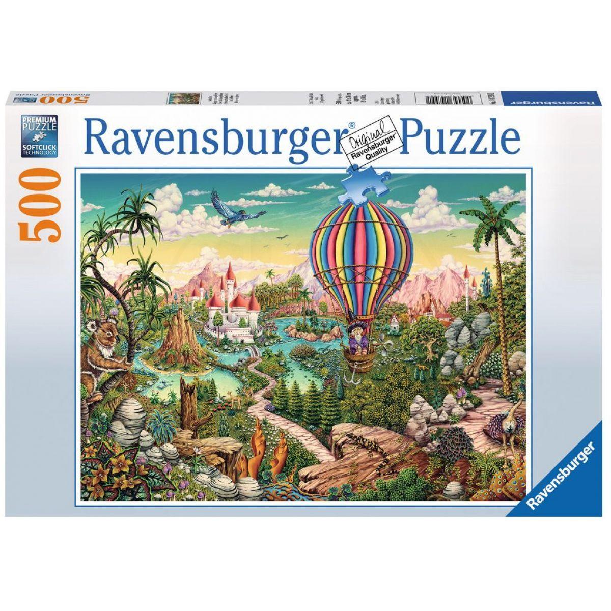Ravensburger Puzzle Létající balón 500 dílků