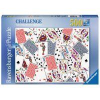 Ravensburger Puzzle 148004 Karty 500 dílků