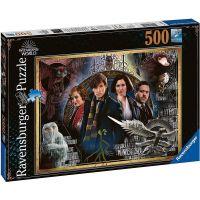 Ravensburger puzzle Fantastická zvířata 500 dílků
